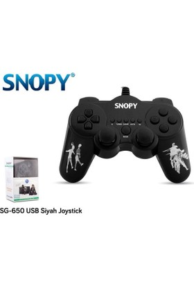 Snopy Sg-650 Usb Titreşimli Joypad