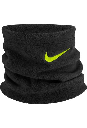 Nike Youth Fleece Neck Warmer Black/Black/Volt Boyunluk