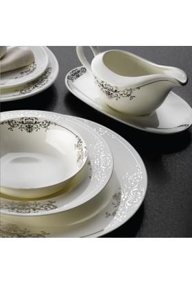 Falez Fıne Bone Porselen 86 Parça Valery V02 Yemek Takımı Vlr3002