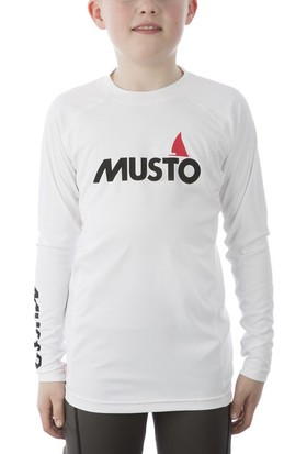 Musto Jr Insignia Uv Fd Rash Guard Çocuk Licra