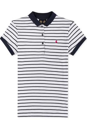 Musto Elle Strıped Polo Fw t-shirt