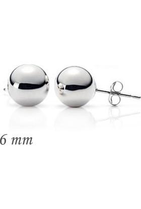Gumush Gümüş Top Küpe Tktsea1160219