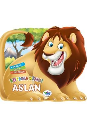Şekilli, Eğitici, Eğlenceli:Boyama Kitabı: Aslan