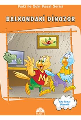 Balkondaki Dinozor
