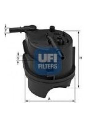 UFİ FORD FUSİON Mazot Filtresi 2002 - 2011 (190199)