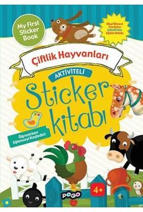 Aktiviteli Sticker Çiftlik Hayvanları