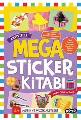 Mega Sticker Müzik Ve Müzik Aletleri