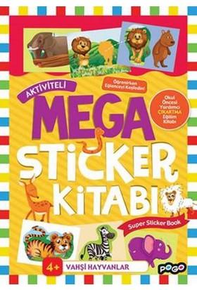 Mega Sticker Vahşi Hayvanlar