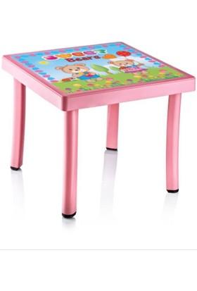 Plastart Çocuk Masası Desenli 50 x 50 x 40 cm