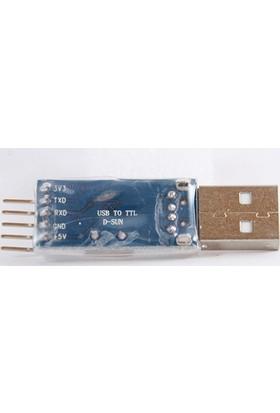 Tasarım Arduino USB to TTL Seri Dönüştürücü PL2303