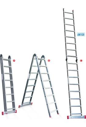 ATM Ateş Tek Kırmalı Merdiven 43X202X13,5