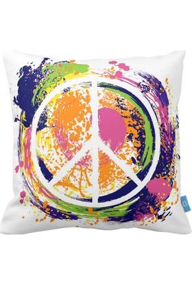 Bc Home Barış Dekoratif Yastık / Kırlent Kılıfı