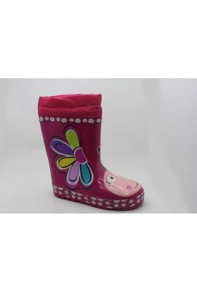 Pink Step Dain-12 Kız Çocuk Çizme
