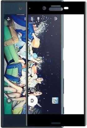 Case 4U Sony Xperia X Compact Tam Kavisli Ekran Siyah