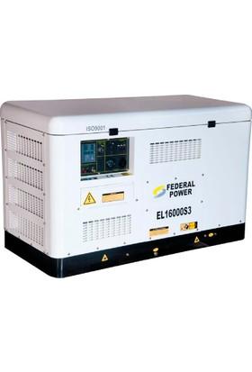 Federal Power Dizel Jeneratör 19.3 Kva