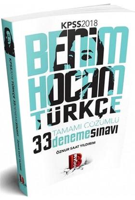 2018 Kpss Türkçe Tamamı Çözümlü 33 Deneme Benim Hocam Yayınları