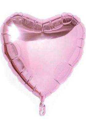 PartiBulutu Pembe Kalp Folyo Balon 40 Cm