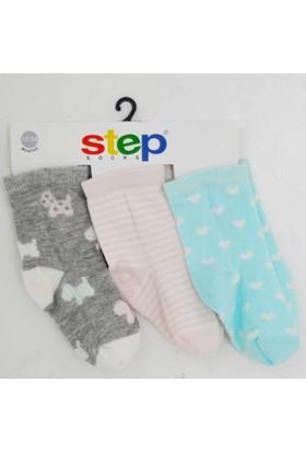Step 1830 3'lü Soket Çorap