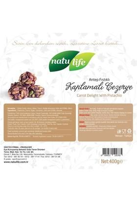 Natulife Antep Fıstığı Kaplamalı Cezerye Kutu Premium 400 Gr