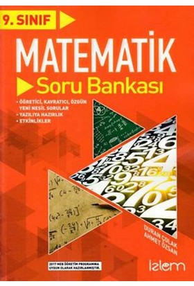 İzlem 9. Sınıf Matematik Soru Bankası