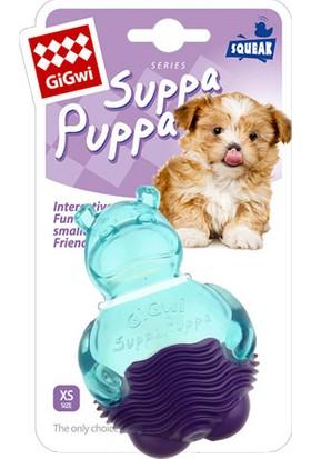 GiGwi 6710 Suppa Puppa Hipopotam Mavi Mor