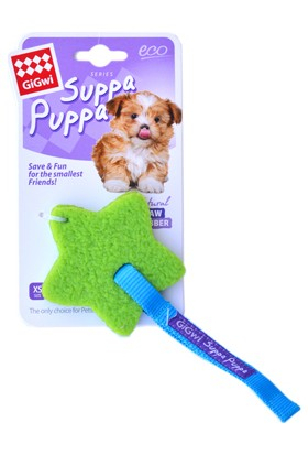 GiGwi 6712 Suppa Puppa Gumgum Sindirilebilir Yıldız