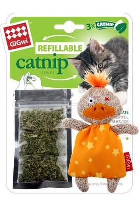 GiGwi 7053 Catnipli Ördek Kedi Oyuncagı