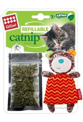 GiGwi 7057 Catnipli Ayı Kedi Oyuncagı