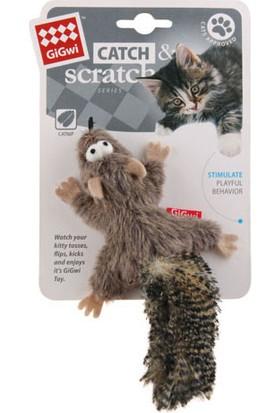 GiGwi 7112 Catnipli Peluş Sincap Kedi Oyuncagı