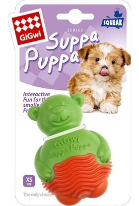 GiGwi 6706 Suppa Puppa Ayı Yeşil Portakal