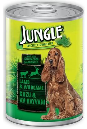 Jungle Köpek 415 Gr Kuzu Etli-Av Hayvanlı Konserve