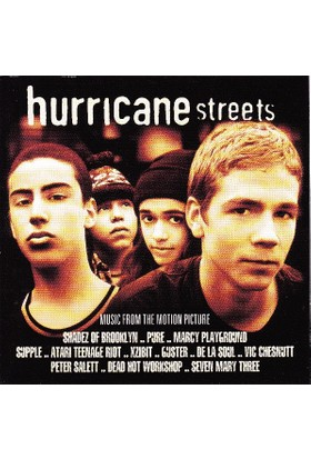Various ‎Artists – Hurricane Streets (Music From The Motion Picture) CD
