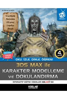 3D Studio Max Karakter Modelleme ve Dokulandırma - Ali Murat Sümen