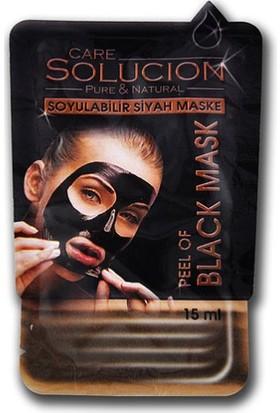Care Solucion Soyulabilir Siyah Maske 15 ml.