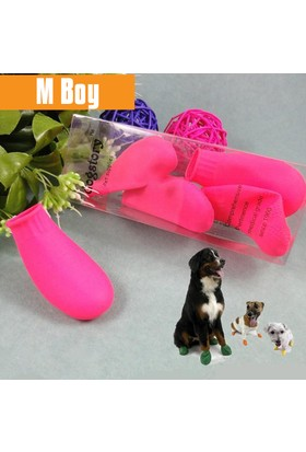 Dog Story Medium Pembe Galoş