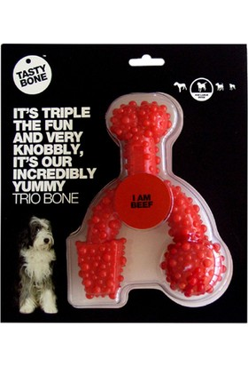 TastyBone Trio Bone Large Nylon Beef 745966