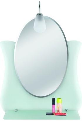 Tuğbasan Lale Ayna Buzlu Aplikli 58x70