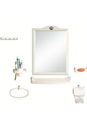 Tuğbasan Taç Ayna Seti