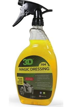 3D Magıc Dressıng-Solvent Bazlı Lastik Parlatıcı 750 Ml. 704 Oz 24