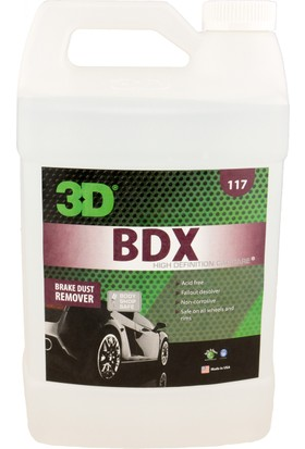 "3D Bdx Brake Dust Remover ""Jant Temizleyici."" 3,79 Lt. 117 G 01"