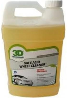 3D Safe Acıd Wheel Cleaner Jant Temizleyici 3.79 Lt. 116 G 01