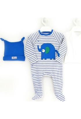 İdil Baby 8930 3'lü Bebek Tulum Takımı