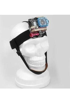 Xiaomi Yi Çene Destekli Kafa Bandı Head Strap