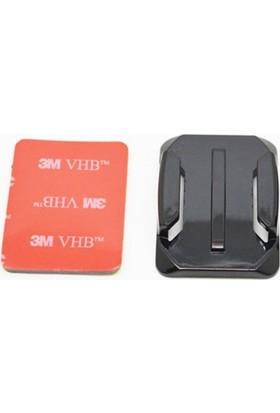 Sony Aksiyon Kamera Uyumlu Oval Zemin 3M Yapıştırma