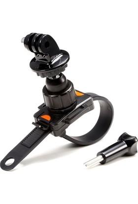 Sony Aksiyon Kamera Uyumlu Çek-Çek Kilitli Gidon Aparatı