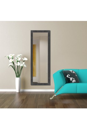 Hepsiburada Home Dekoratif Boy Aynası Siyah 45x105 cm