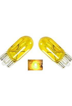 ModaCar T10 Model Sarı Renk Par Ampülü 0400505