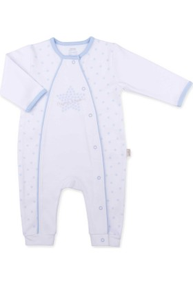 Kitikate Organik Dreams Star Patiksiz Erkek Bebek Tulum