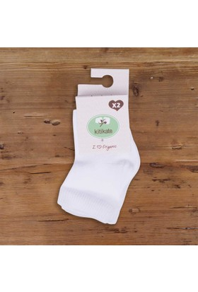 Kitikate Organik 2Li Bebe Çorap