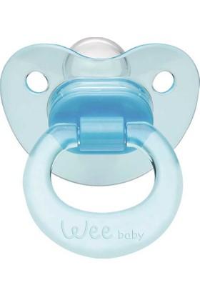 Wee Baby Akide Gövdeli Damaklı Uçlu Emzik No:1 Az Akış 0 - 6 Ay